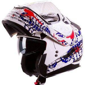 Freedom-Scorpion Modular-Dual Visor-Motorcycle Helmet