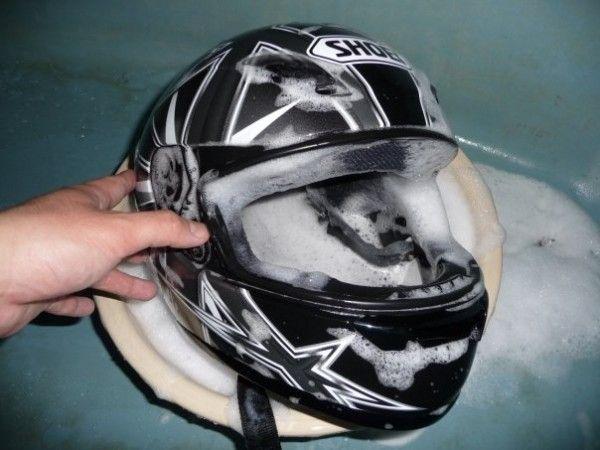 Motorcycle helmet care tips