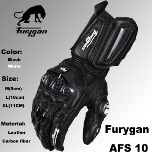 Super-affordable-Furygan-afs10-motorcycle-Riding-gloves-road-racing-gloves-cycling-glove-leather-gloves-2color